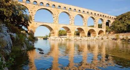 Baptême de l'air ULM depuis Nîmes et survol du pont du Gard