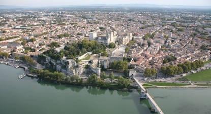Baptême en ULM depuis Nîmes - Vol découverte d'Avignon et sa région