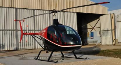 Baptême en hélicoptère privatif Lubéron Rustrel