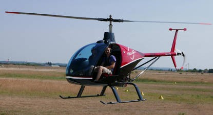 Baptême Hélicoptère Gorges de l'Ardèche privatif