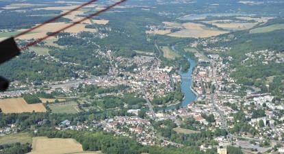 Baptême en ULM depuis Nangis et survol de la Vallée de la Marne