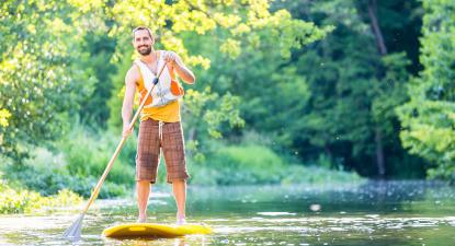 Location de paddle en rivière près de Guérande