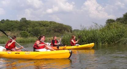 Kayak biplace près de Guérande