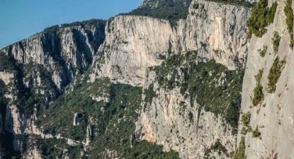 Bivouac en paroi près de Fréjus