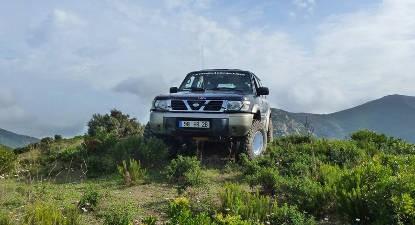 Randonnée Découverte en 4x4 de l'Agriate en Corse