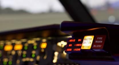 Simulateur de Boeing 737 près de Thionville