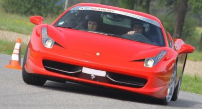 Pilotage d'une Ferrari 458 Italia - Circuit de Fontenay le Comte
