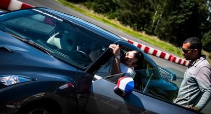 Baptême de Vitesse en Nissan GTR - Circuit de Mortefontaine