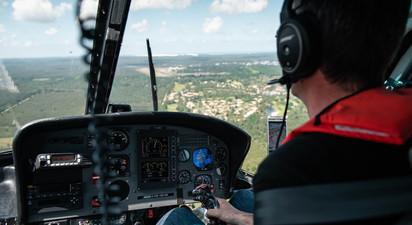 Baptême en Hélicoptère à Royan