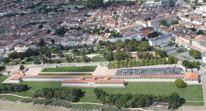 Survol en hélicoptère des hauts lieux de Rochefort