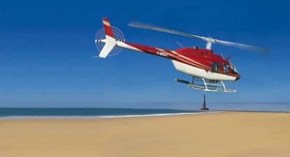 Survol de la côte Royannaise en hélicoptère depuis Royan