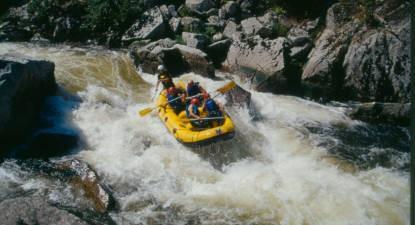 Rafting près de Clermont-ferrand