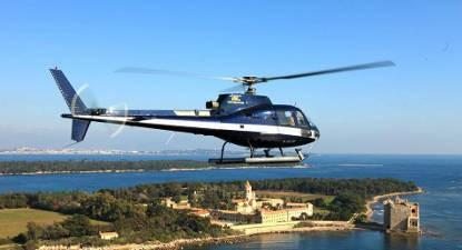 Vol panoramique en Hélicoptère à Saint-Tropez