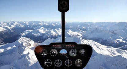 Baptême en hélicoptère - Vol pour 5 à Val d'Isère