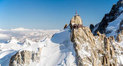 Baptême en hélicoptère - Vol pour 5 à Val d'Isère au dessus des Alpes