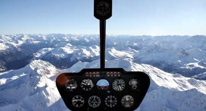 Baptême en hélicoptère - Vol pour 5 aux dessus des 3 Vallées