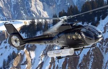 Baptême en hélicoptère - Vol privé aux dessus des 3 Vallées