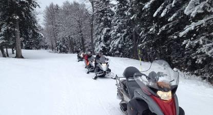 Sortie découverte en motoneige à Barèges dans les Pyrénées