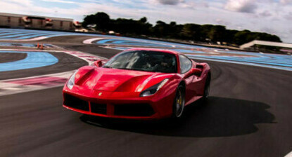 Pilotage d'une Ferrari 488 GTB - Circuit Paul Ricard piste GT