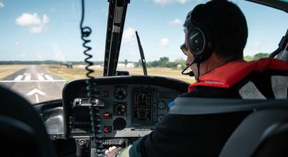 Initiation au Pilotage d'Hélicoptère R44 à Rochefort