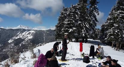 demi-journée raquettes Pyrénées