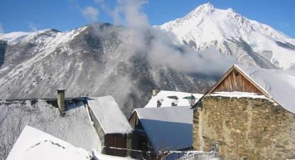 Raquettes et repas Berger à Saint Lary Soulan dans les Pyrénées