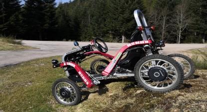 Balade en buggy électrique type Spider Swincar près de Gerardmer