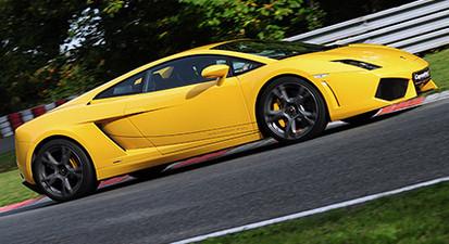 Pilotage en Lamborghini Gallardo LP 560 - Circuit de Chambley