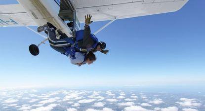 saut en parachute blois