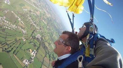 Saut parachute tandem Blois
