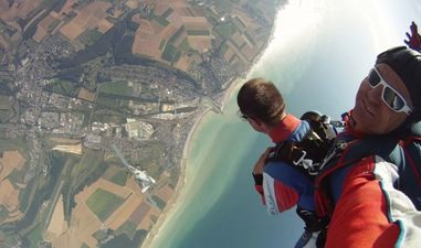 saut en parachute utah beach