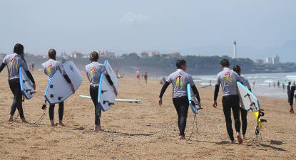 Cours de Surf à Anglet près de Bayonne
