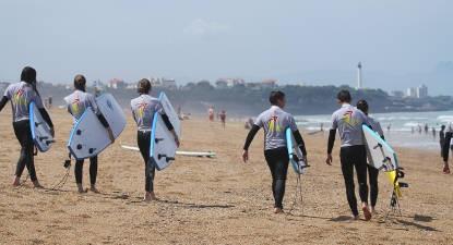 Cours de Surf près de Bayonne