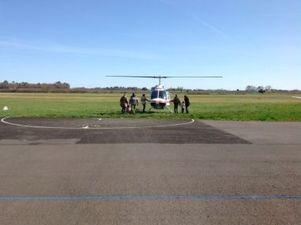 Vol Hélicoptère Libourne privé en duo