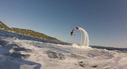 Initiation au Flyboard et session de Jet ski près de Nice