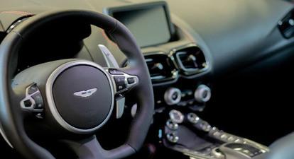 Pilotage en Aston Martin Vantage  - Circuit de Folembray