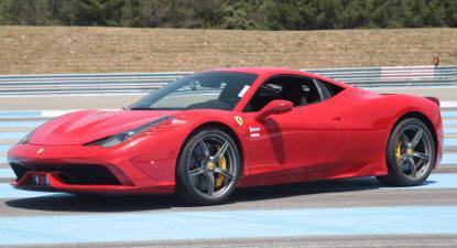 Pilotage en Ferrari 458 Italia Spider ou 488 GTB - Circuit Mireval