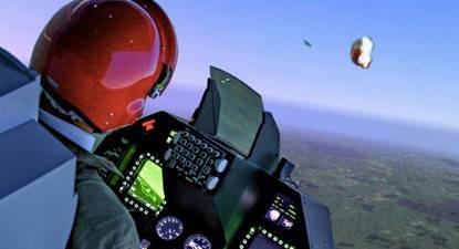 Simulateur en avion de chasse F16 à Aix en Provence