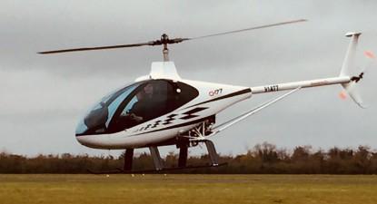 Initiation au pilotage d'hélicoptère près d'Étampes