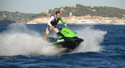 Session de Jet-Ski à Port-Grimaud