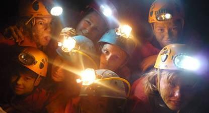 Demi-Journée de spéléologie près de Lourdes