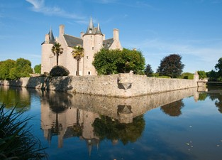 Week-end randonnée et bivouac à Cheval en Bretagne