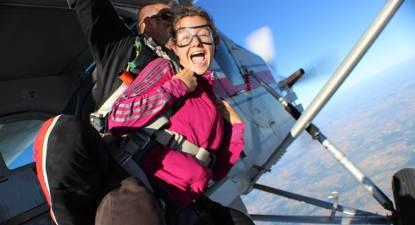 Saut en Parachute Tandem à Niort au dessus du Marais-Poitevin