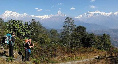 Stage de survie au Népal
