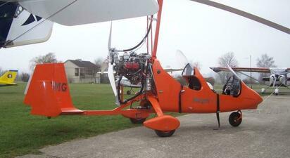 Initiation au pilotage d'un ULM Autogire près de Meaux