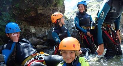 Descente en Canyoning à Lourdes dans les Pyrennés