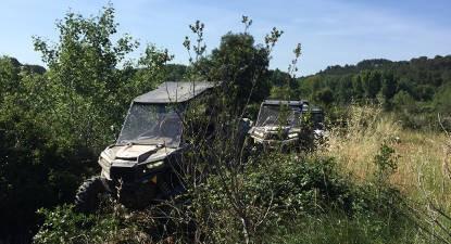 Randonnée en Buggy RZR 1000 turbo en Alpes-de-Haute-Provence
