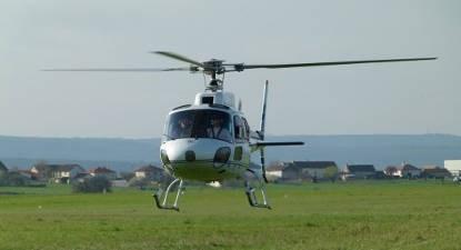 Baptême en hélicoptère - Vol à Chalon