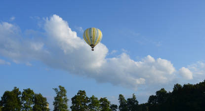 Vol en Montgolfière au-dessus de la Dombes