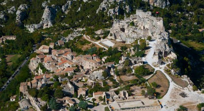 Baptême en hélicoptère au dessus des Alpilles